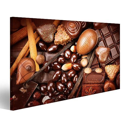 islandburner Cuadro Cuadros Surtido de Chocolate Fino. Blanco ...