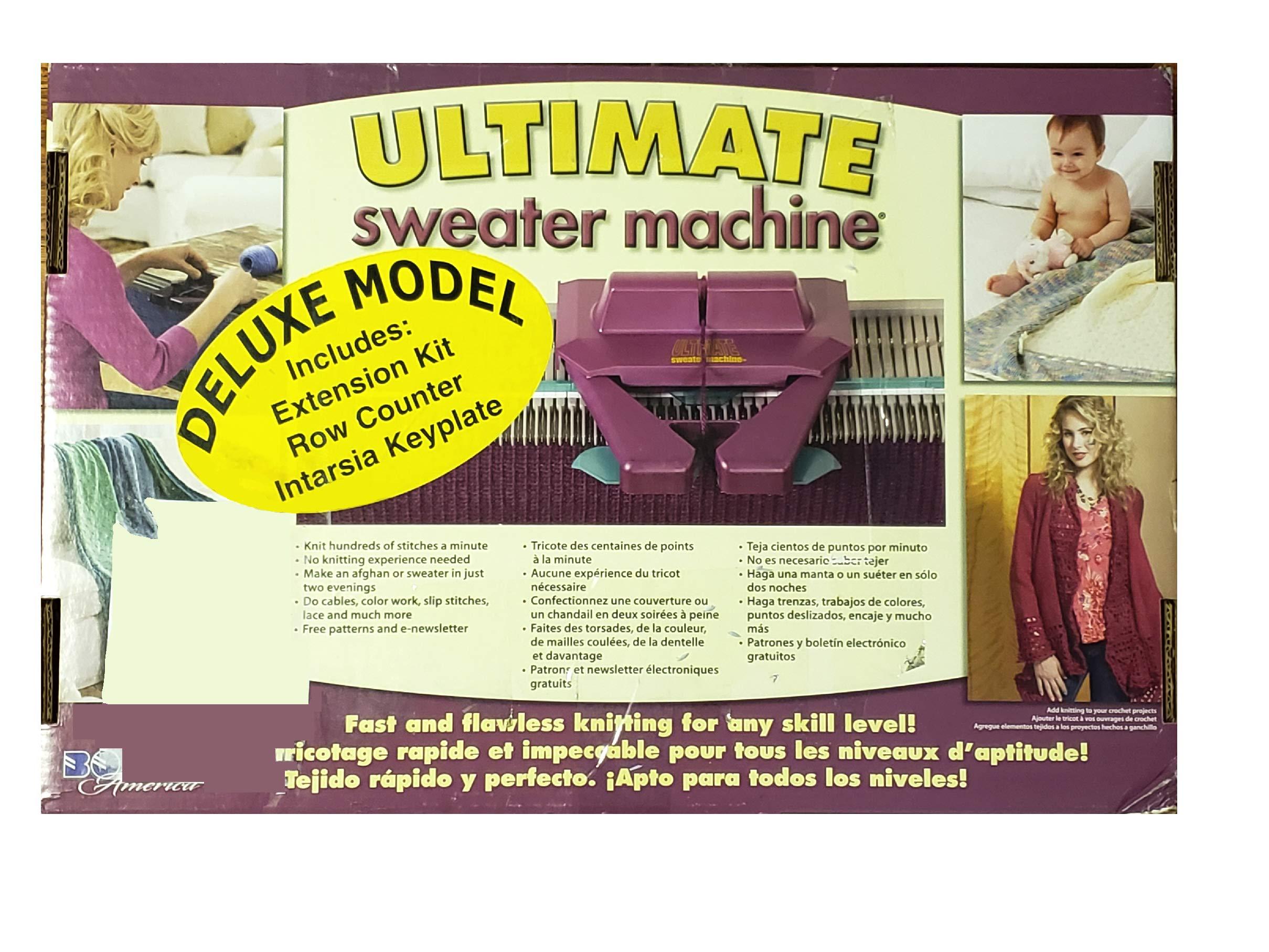 Bond America Ultimate Sweater Machine Deluxe Model