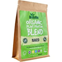 BodyMe Organic Vegan Protein Powder Blend | Naked Natural | 1kg (2.2lb) | UNSWEETENED with 3 Plant Proteins