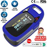Dr Trust (USA) Professional Series Finger Tip Pulse Oximeter With Audio Visual Alarm and Respiratory Rate