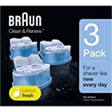 Braun CCR 3,Braun Clean & Renew Refill Cartridges CCR - 3 Count, (Pack of 1)