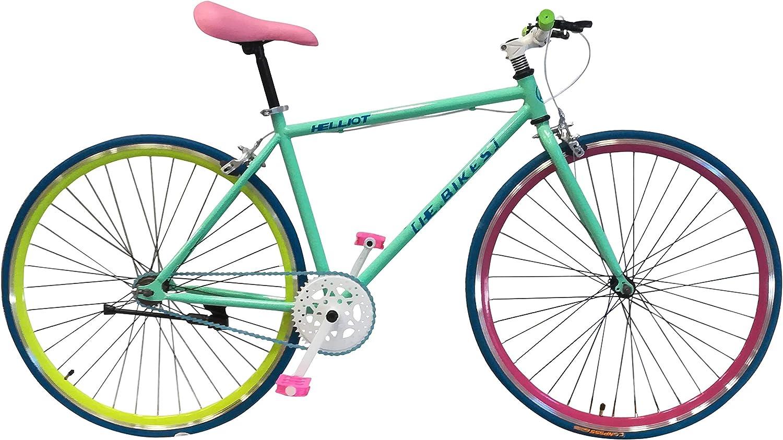 Helliot Bikes Soho 14 - Bicicleta Fixie Urbana, Unisex Adulto ...