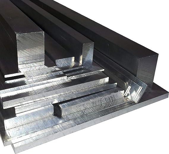 50cm Aluminium Flachprofil Länge 500mm Flachstange Alustange Profil Flach