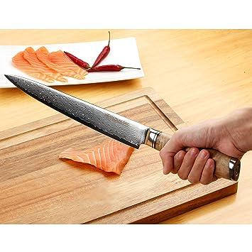 Amazon.com: YOUSUNLONG cuchillo de chef internacional ...