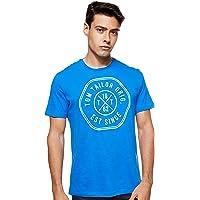 Tom Tailor Men's Slub with Print T-Shirt