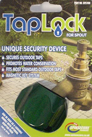 Taplock for Spout. Outdoor garden tap security lock device Ideal ...