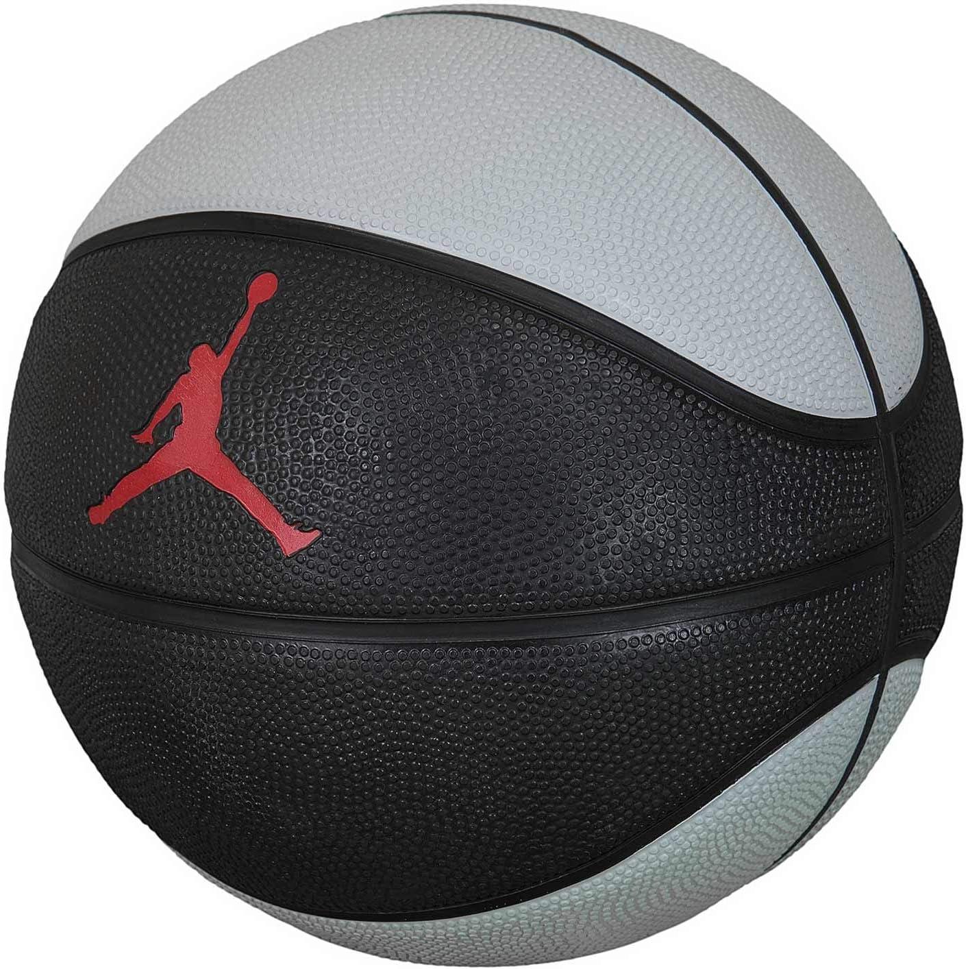 recibo pala exégesis  Nike Jordan Skills Mini Basketball (3, Black/Grey/Red): Amazon.co.uk:  Sports & Outdoors
