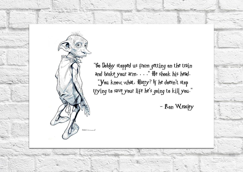 Dobby Aide Est Harry Potter Ron Must Have Pour Tous Les Fans