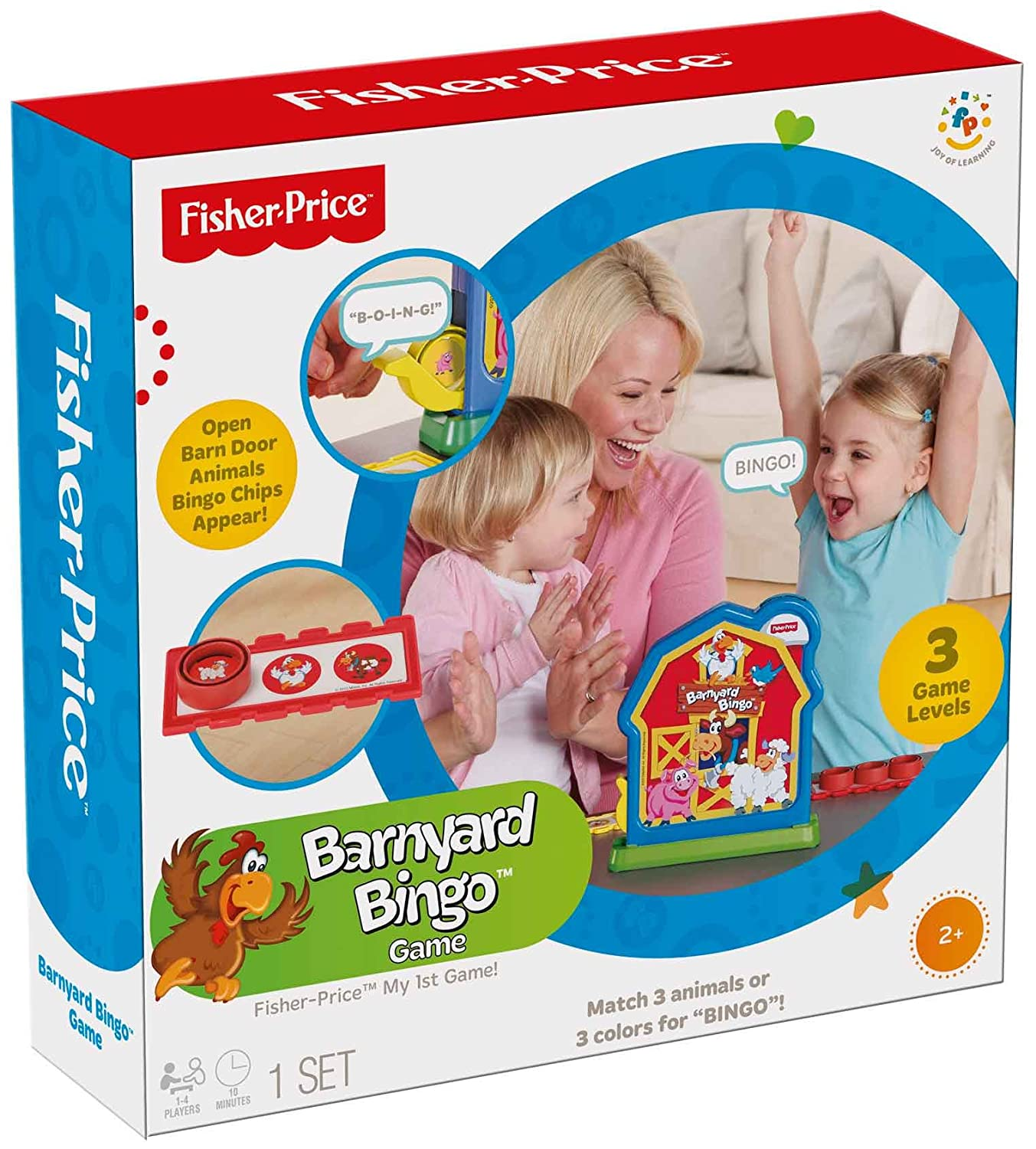 Amazon Fisher Price Barnyard Bingo Game Toys & Games