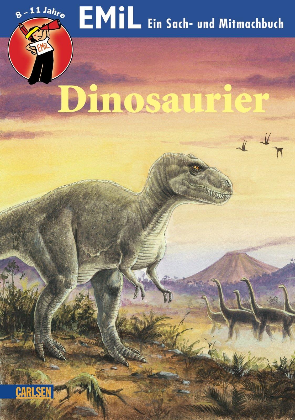 Sach- und Mitmachbuch: Dinosaurier