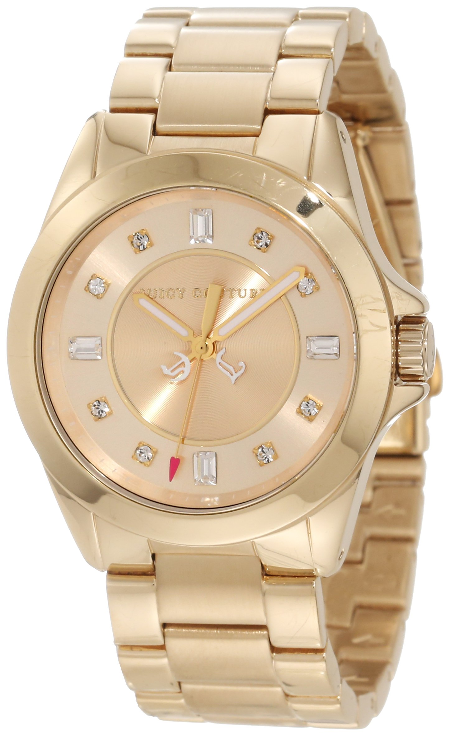 Juicy Couture Women's 1901035 Stella Mini Gold Plated Bracelet Watch