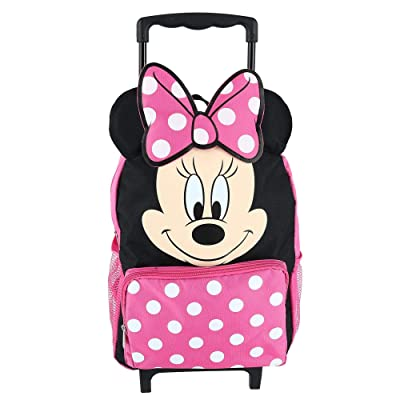 "Minnie Mouse 14"" Softside Rolling Backpack 