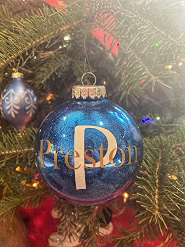 initial Ornament for kids Initial Ornaments christmas initial ornaments personalized monogram ornaments christmas monogram ornament ball
