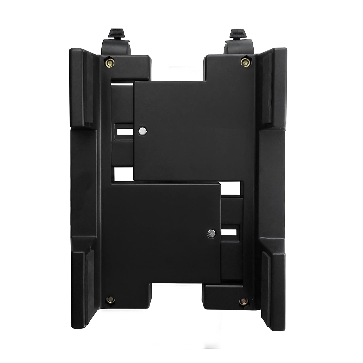 Ewent EW1290 - Soporte (Cart CPU Holder, Escritorio, 8 kg, Negro, ABS sintéticos, Horizontal)
