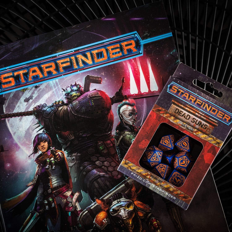Q-Workshop Starfinder Signal of Screams Dice Set 7 Piece Set