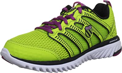 K-SWISS Blade Light Run NP Zapatilla de Running Señora, Amarillo/Púrpura, 35.5: Amazon.es: Zapatos y complementos