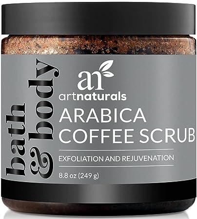 ArtNaturals Arabica Coffee Body Scrub (8 8 Oz / 249g) – Exfoliating  Treatment for Varicose Veins,
