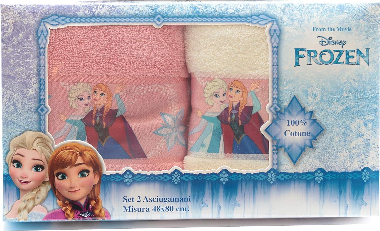 Disney Frozen La Regina di ghiaccio Asciugamano 40 x 60 cm salvietta scuola asilo