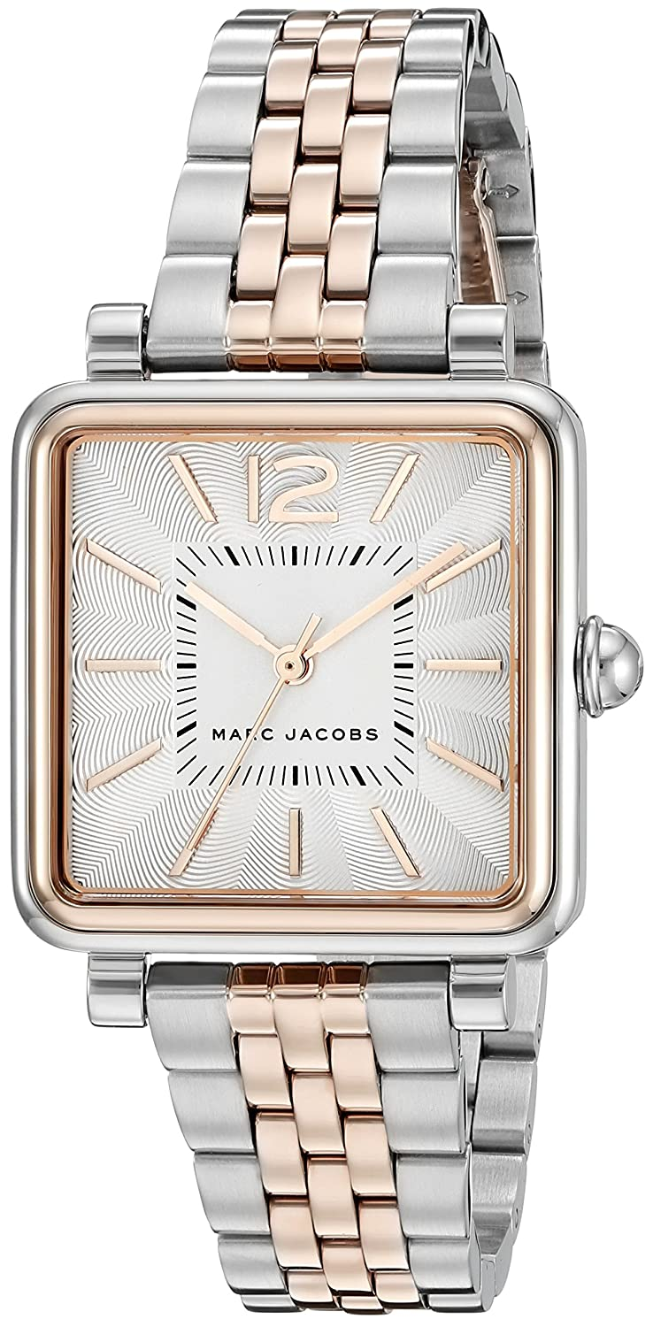 2abe9e7bfb3cf Amazon.com: Marc Jacobs Women's Vic Two-Tone Watch - MJ3463: Marc By Marc  Jacobs: Watches