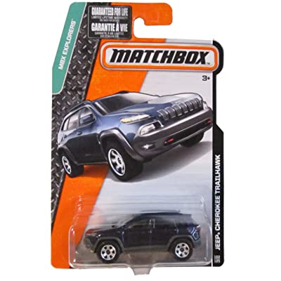 Matchbox MBX Explorers '14 Jeep Cherokee Trailhawk Blue #102/125: Everything Else