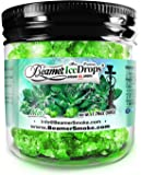 Mint 50G Ultra Premium Beamer Ice Drops ¨ Hookah Shisha Smoking Gel. Each bowl lasts 2-4 Hours! USA Made, Huge Clouds, Amazing Taste! Better Taste & Clouds than Tobacco! 2-3 bowls per Jar!