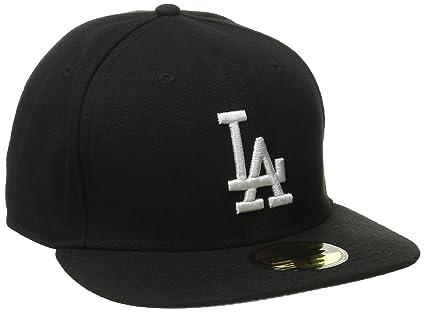 1b0736bb029 Buy New Era Los Angeles LA Dodgers BK WH Fitted Hat (Black White ...