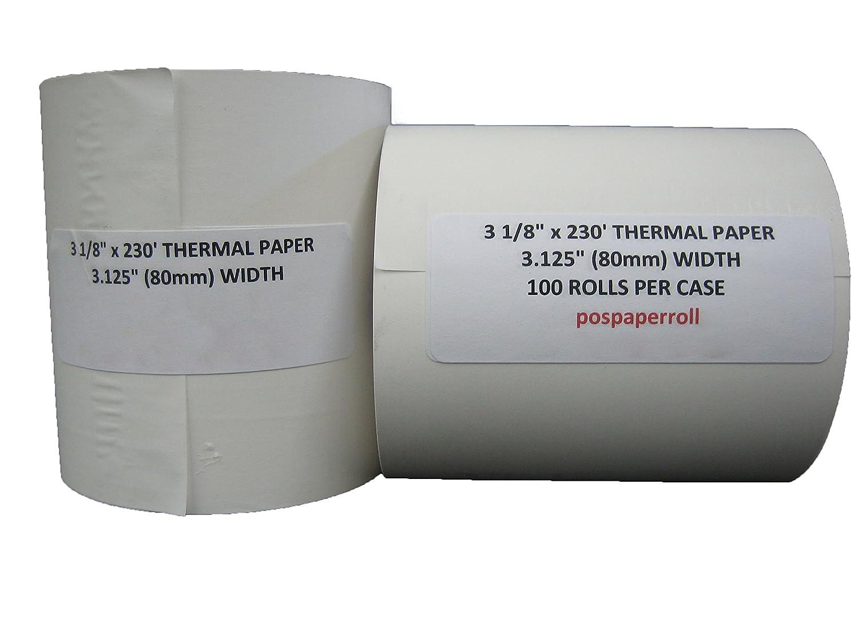 50 rolls- 3 1 /8