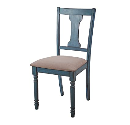 Amazon Com Powell Furniture 16d8214scx Willow Teal Blue Set Of 2
