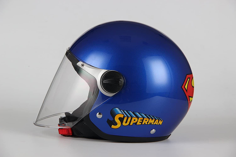 Motorradhelm BHR Demi-Jet One 801 L Superman Bimbo