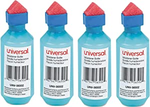 Universal Office Products - Moistener,Squeeze Bottle, 4 Pack