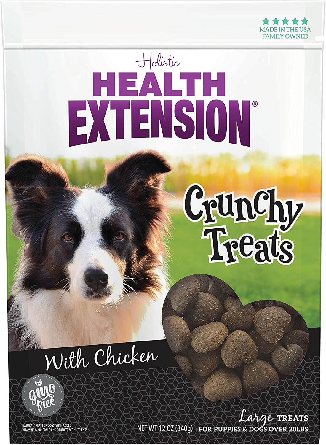Health Extension Heart Shaped Natural, Large