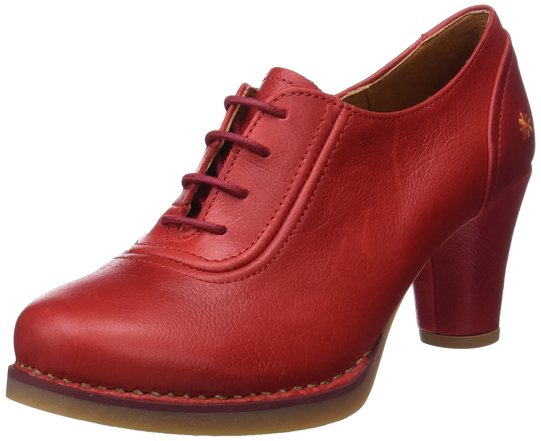 TALLA 40 EU. Art Memphis, Zapatos de tacón con Punta Cerrada para Mujer