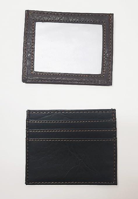 314eab8e694916 takestop® PORTACARTE Uomo Carta IDENTITA' Tessere Porta Carte Clip Credito  in Eco Pelle Wallet