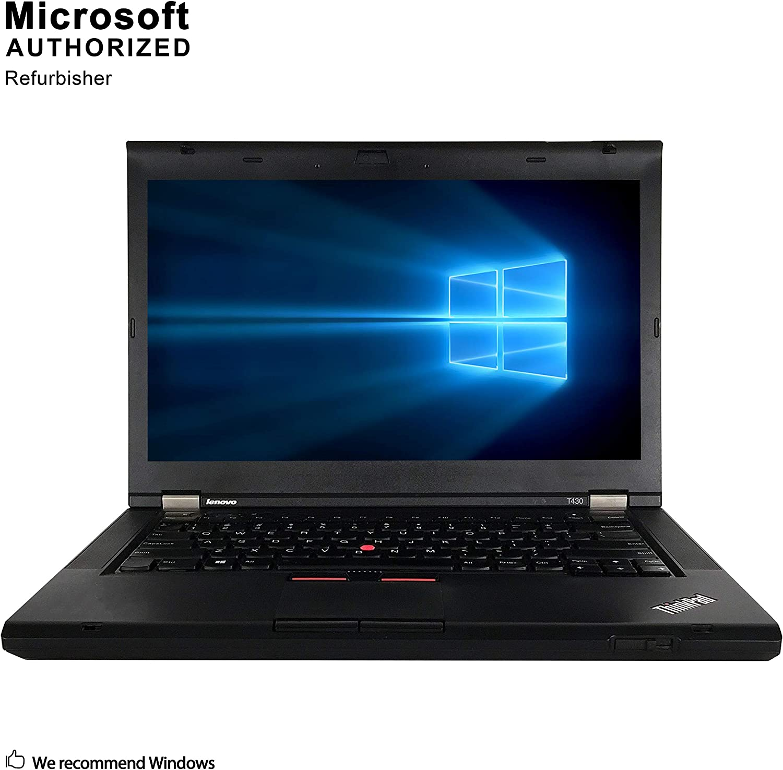 Lenovo ThinkPad T430, Intel Core I5 3320M, up to 3.3GHz, 8G DDR3, 512G SSD, VGA, DP, USB 3.0, DVD, WiFi, BT 4.0, Win 10 64 Bit-Multi-Language(CI5)(Renewed)