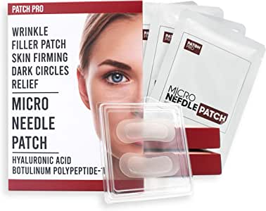 [PATCH PRO] Micro Needle Patch - Skin Regeneration New Generation Mask Pack for Anti-Wrinkle Anti-Aging 40mg x 8pc Korean Cosmetics K-beauty #Dab1006