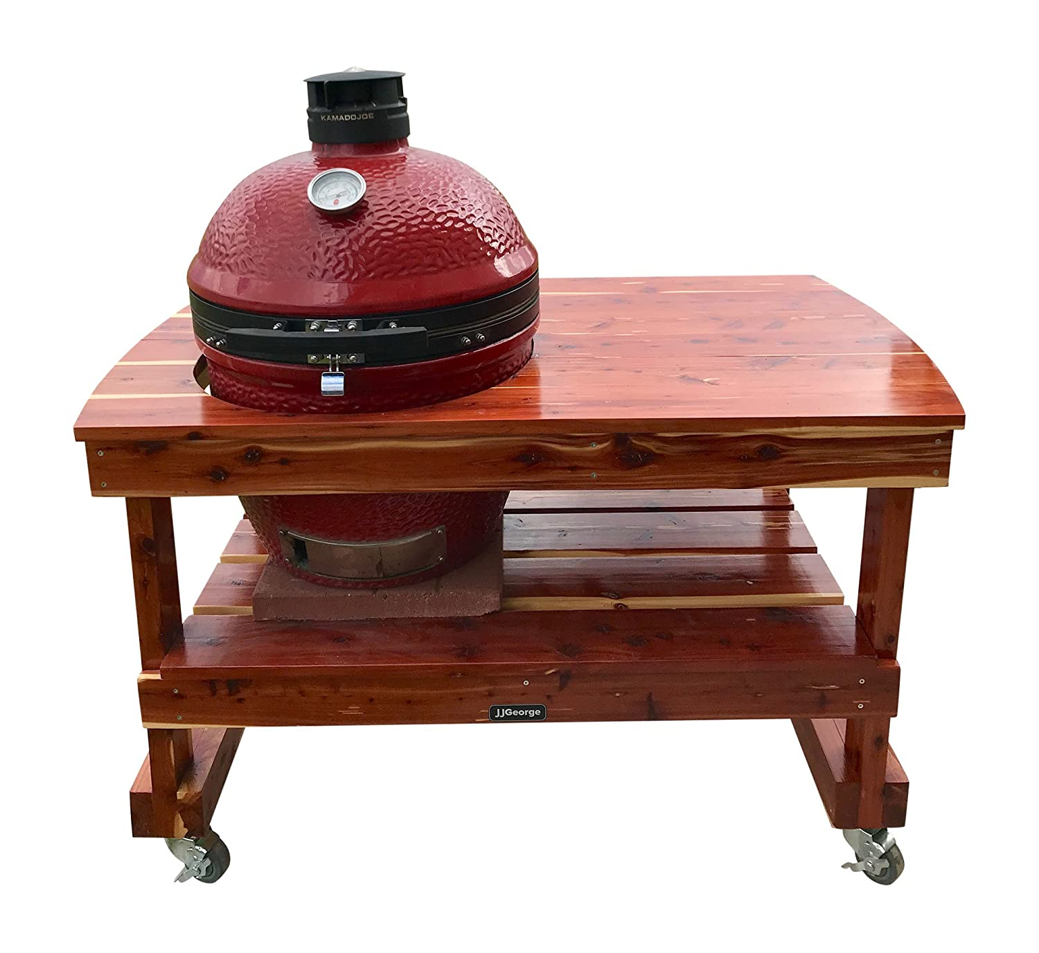 Jjgeorge Grill Table For Classic Kamado Joe Ii Free Table Cover Included
