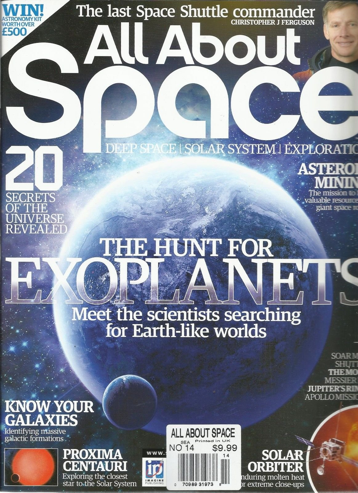 ALL ABOUT SPACE, NO.14 (DEEP SPACE SOLAR SYSTEM EXPLORATION * THE LAST SPACE