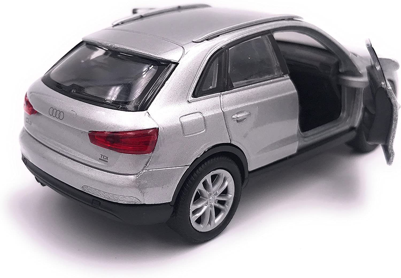 H-Customs Q3 Modellauto Auto Lizenzprodukt 1:34-1:39 Silber