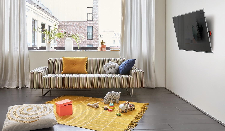schwarz 400 x 400 mm max 32-55 Zoll starr Fernseher 50 kg Vesa max Vogels WALL 3205 TV-Wandhalterung f/ür 81-140 cm