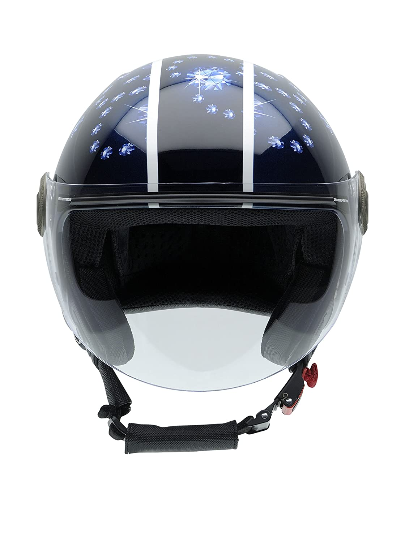 NZI Casco 3D Helix Iv Rocks Negro/Azul XL: Amazon.es: Deportes y aire libre