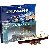 Revell - Maqueta Modelo Set R.M.S. Titanic, Escala