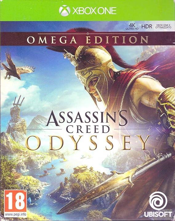 Xbox One - Assassins Creed Odyssey - Omega Edition - [Italian Version - MULTILANGUAGE]: Amazon.es: Videojuegos