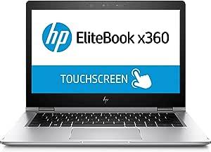HP EliteBook X360 1030 G2 13.3-Inch TouchScreen 256GB SSD 2-in-1 Laptop (3 Year Warranty, 2.6GHz 7th Generation i5, 8GB DDR4 RAM, Windows 10 Pro) Silver - 1BS97UT#ABA (Renewed)