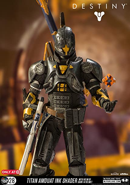 Destiny Vault of Glass Titan Feud Unfading Shader Action Figure *LOOSE*