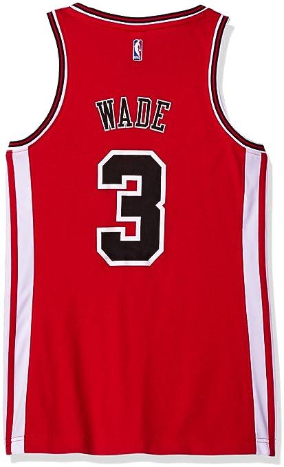 NBA Chicago Bulls de la NBA Dwayne Wade # 3 réplica de la ...