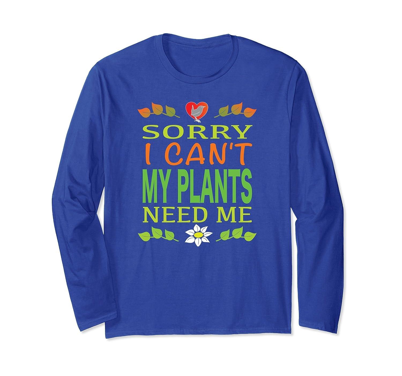 Cute Gardening Long Sleeve T Shirt New Gift Women Men Youth-AZP