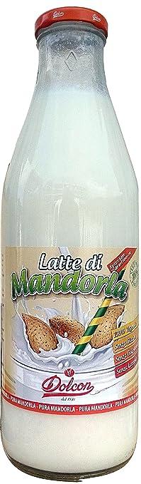 5 opinioni per Latte di Mandorla Dolcon- 1000 ml