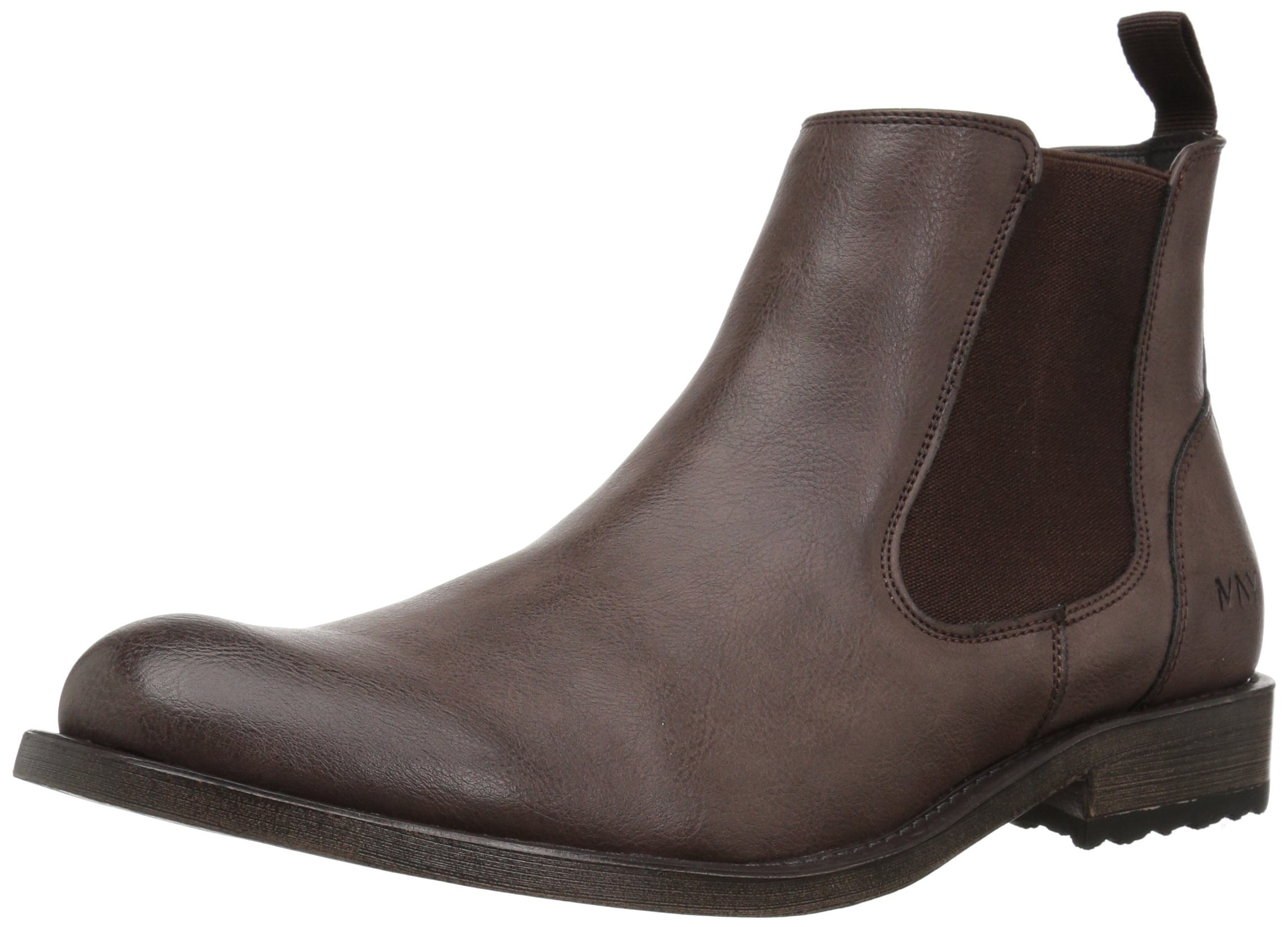 Marc New York Men's Parson Chelsea Boot, Coffee/Black, 11.5 M US
