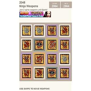 2048: Ninja Weapons: Amazon.es: Appstore para Android