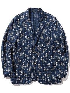 Indigo Check Paisley Sack Sportcoat 11-16-1746-139